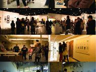 Students and Faculty at the 2015 Department of Art and Design Open House