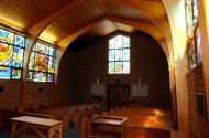 Inside Danforth Chapel
