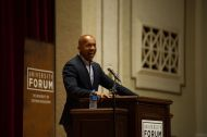Lawyer and social justice activist Bryan Stevenson