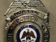 USM Patrol Officer's Badge