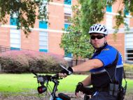 Bike Patrol Officer Aaron Jernigan