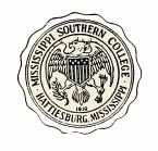 Mississippi Normal College Crest