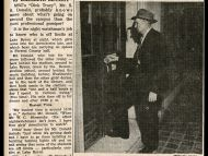 "Southern's ""Dick Tracy"" Student Printz February 13, 1953"