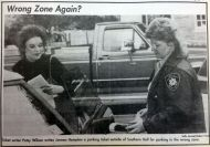 Head Ticket Writer Patsy Wilson-Student Printz October 10, 1994