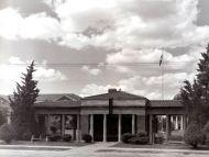 WWI Memorial Street Car Station