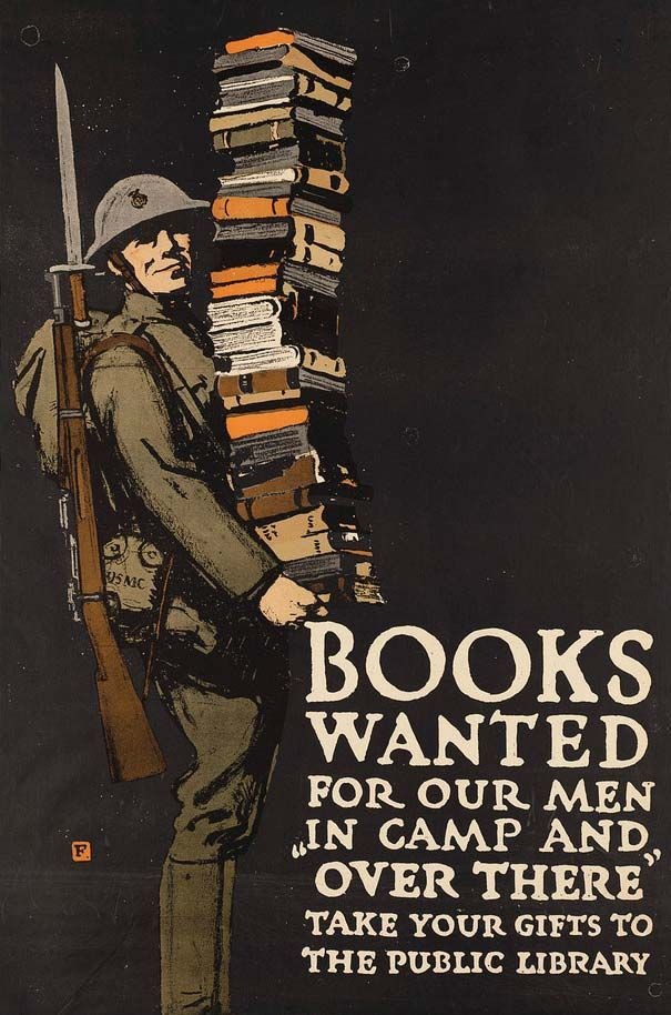 World War One Books Wanted Poster