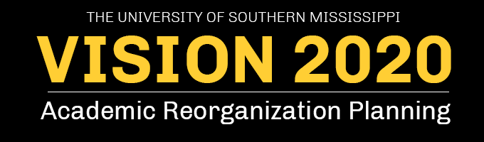 Vision 2020: Academic Reorganization Planning