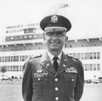 Col. John H. Dale Sr. at Southern Miss