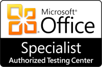 MS Office Specialist Authorized Testing Center