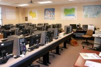 photograph of the Geography lab on the Gulf Coast