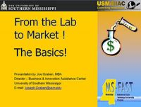 Lab to Market presentation