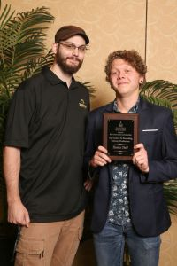 Hunter Huff, Top Student in Recording Industry Production