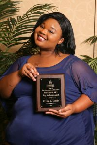 Crystal L. Tolible, WUSM-FM 88.5 Top Student Award