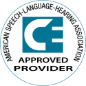 American Speech-Language-Hearing Assoc. Continuing Education Unit logo