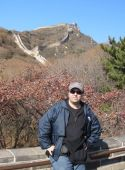 Dr. Kenneth Swope at the Great Wall of China
