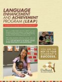 Language Enhancement and Achievement Program Cover for students with dyslexia