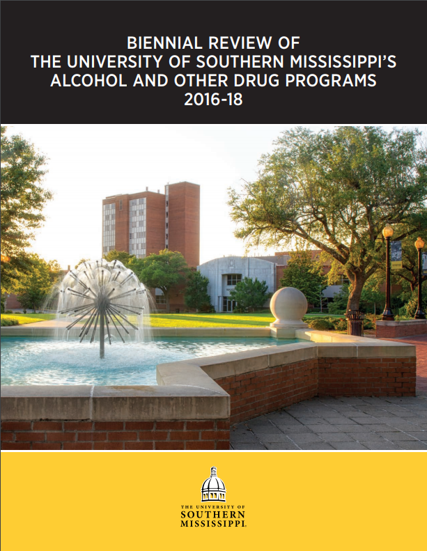2016 - 2018 Biennial Alcohol and Other Drug Programs Review