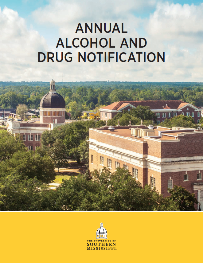 2018 - 2019 Annual Alcohol and Drug Notification